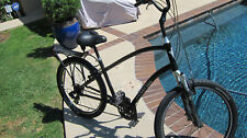 Townie 21D~21 Speed~ Flat Foot  Crank Forward~Beach~ Comfort~ City Bicycle wRack
