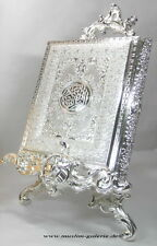 Noble Corán Baúl Metal Plata Allah Islam Musulmán Takchita Hijab Abaya