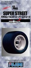 Fujimi Models 1/24 14inch Hayashi Racing Super Street Wheels & Tyres (4 Wheels)