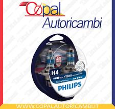 Philips h4 x-treme racing vision 150% più luce 12342RVS2