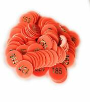 SIPL Tokens Bingo Board Game Plastic Chips Tokens Color May Vary