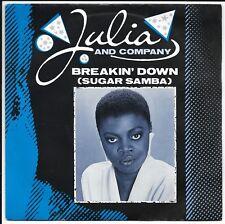 "Julia and Company - Breaking Down - UK 7"" - LON 46 - 1983"