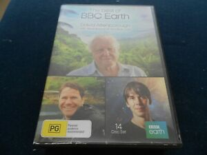 THE BEST OF BBC EARTH - 14pt BOXSET - DAVID ATTENBOROUGH/BACKSHALL/BRIAN COX -