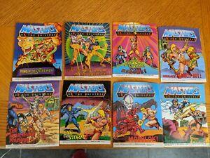 Vintage 1985 Masters of the Universe Mini Comics Lot of 8