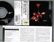 DEPECHE MODE Violator JAPAN CD w/'COOLPRICE' OBI+INSERT TOCP-3292 Toshiba issue