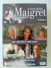 MAIGRET: I'INTEGRALE VOLUME 4 . DVD. In Box 4