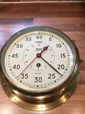 Vintage Royal Navy Smiths Astral Brass Stopwatch Clock AP160174 Maritime Marine