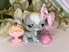 Authentic Littlest Pet Shop Lps 954 Sassiest Angora Longhair Cat Star Eyes