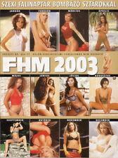 FHM Calendar Kalender 2003 - Jenna Jameson - Ali Landry - Cicciolina