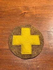 WWI US Army 33rd  Division patch on khaki wool