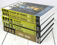 B.P.R.D.: Plague of Frogs, Vols, 1-4 & 1946-1948 Hardcover and Softcover Lot
