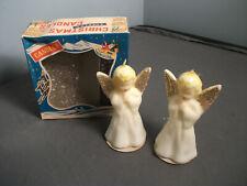 Pr Of Vintage Angel Candles In Original Box - Japan - Ca 1960'S - Unused - 2 80