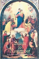 CATHOLIC BOOK   SAINTS TO REMEMBER    BY ST. BENEDICT CENTER