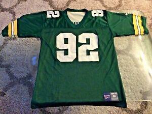 Packers Reggie White Reversible Jersey Adult Extra Large XL 48 Reebok Rare
