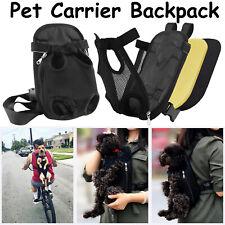 Pet Cat Dog Carrier Backpack Adjustable Pet Front Travel Bag Head Legs Out S/M/L