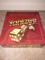 Yahtzee Deluxe Edition Gold Dice Game Vintage 1997 Milton Bradley