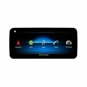 """10 """" Touchscreen Android GPS USB GPS Carplay For Benz E Class W212 NTG4x"""