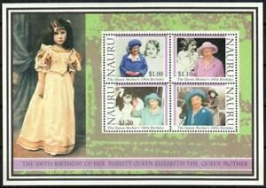 Nauru Stamp - Queen Mother, 100th birthday Stamp - NH
