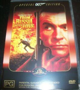 From Russia With Love James Bond 007 (Australia Region 4) DVD - Like New