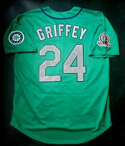 Ken Griffey Jr Jersey Seattle Mariners 1995 Throwback Stitched NEW With Tags!