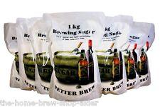 Fabricación de azúcar 1 Kg X 10 Para Cerveza Vino Sidra espíritu La Casa Cervecera Dextrosa