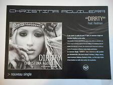 ▓ PLAN MEDIA ▓ CHRISTINA AGUILERA : DIRRTY ( feat. REDMAN )