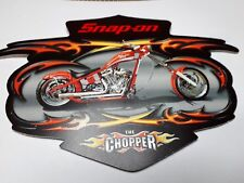 """Official Snap-On Tool Box Sticker """"The Chopper"""" FREE P&P"""