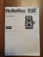 Rolleiflex 3.5F/2.8F- In der Praxis- Rollei/ Heft-