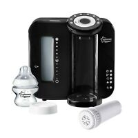 Tippee Perfect Prep Machine Tommee Black Baby Bottle Warmer Closer to Nature
