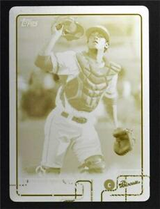 2015 Topps Pro Debut Printing Plates Yellow #9 Justin O'Conner /1 - NM-MT