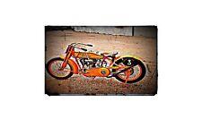 1920 harley davidson Bike Motorcycle A4 Photo Poster
