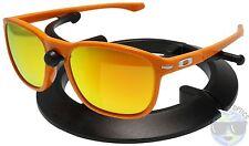 Oakley Enduro Sunglasses OO9223-22 | Fingerprint Atomic Orange | Fire Iridium |