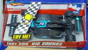 """Hot Wheels INDY 500 Big Sounds Danica Patrick Racing Car 16.5"""" Motorola 1:12 NIB"""