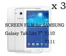 "3X Matte Screen Protector Film Skin for Samsung Galaxy Tab 3 Lite 7"" T110 T111"