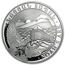 2014 5 oz Silver Armenia 1000 Drams Noah's Ark Coin - SKU #79591