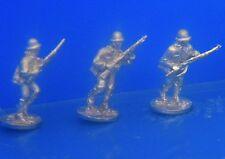 SHQ JA02 1/76 Diecast WWII Japanese Riflemen Moving in Plain Helmets