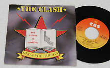 "CLASH:7""-KNOW YOUR RIGHTS-ORIG 1° PRESS ITALY 1982"