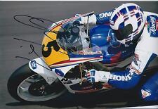Wayne GARDNER 12x8 SIGNED HONDA Racing Team Photo Autograph AFTAL COA In Person