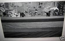 SIGNED N. JAY JAFFEE: Coney Island, NY -2 Men with Shark 1968 (artworks in MOMA)