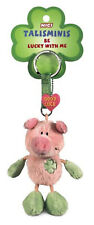 Nici 33687 - Pig Key Chain Talisminis 2 13/16in, Pink-Green