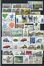 ITALY 1986 MNH COMPLETE COMMEMORATIVE (No Def) YEAR 41 stamps
