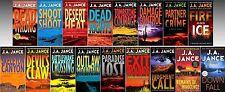 Joanna Brady Mysteries Series Collection Set Books 1-17 Paperback By J. a. Jance