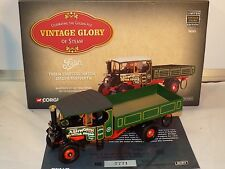 Corgi Vintage Glory No 80203 Foden dropside steam wagon VNMB