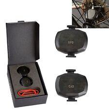 Wireless Bike Ant+ Speed & Cadence Sensor Set For Garmin Edge 25 510 520 810 820