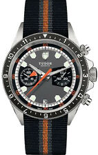 70330N-0001-FB1 | TUDOR HERITAGE CHRONO 42MM STEEL CASE AUTOMATIC MEN'S WATCH