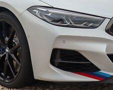 BMW M Sport Stripes for Bonnet Wing Boot Side Premium Vinyl Stickers Decals