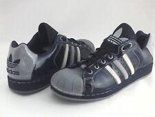 ADIDAS Originals Shoes Clamshell Patent Blue/Gray Men's US 11 EU 45 1/3  RARE