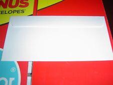 FREE POSTAGE 1200+ DL TUDOR WHITE PLAINFACE  ENVELOPES 220X110MM