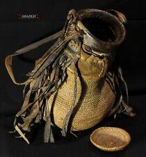 Old Fine Tuareg Basket – Niger