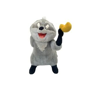Walt Disney World Disneyland Meeko Raccoon Pocahontas Plush Stuffed Animal Toy